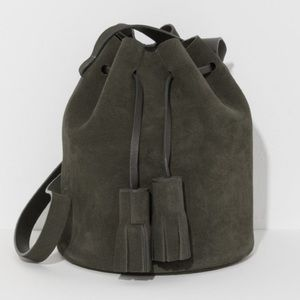 BUILDING BLOCK Bags - BUILDING BLOCK SUEDE MINI BUCKET BAG BRAND NEW